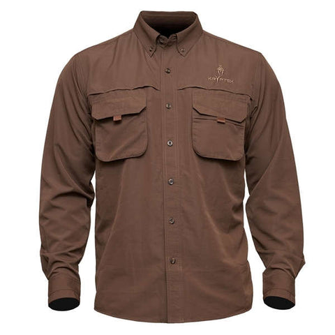 Adventure Shirt ll Dark Brown