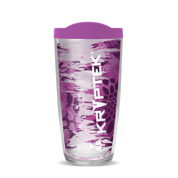24oz Kryptek Pink With Purple Lid