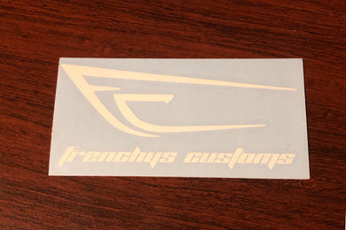 Frenchys Customs Vinyl Decals