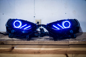 "Ford Fusion (2013-2016) OEM Single Projector ""Mustang Style"" Headlight Retrofitting Service"