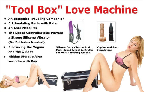 The Tool Box Lover Machine (220V - 240V)
