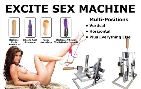 Excite Sex Machine (220V - 240V)