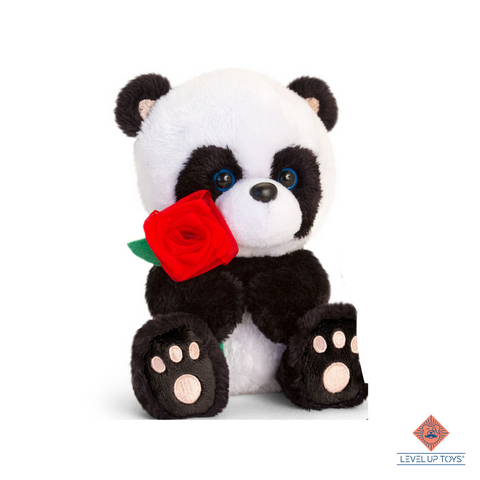 "Panda romantic ""rose"" 30cm"