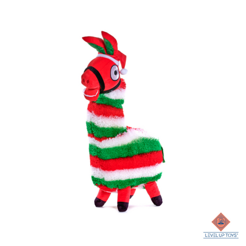 Fluffy 'Christmas' Fortnite Lama 72cm