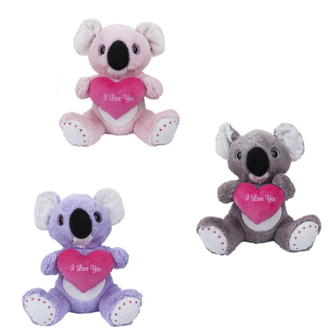 """I love you"" koala trio"