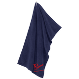 Rob Lightner Red Logo TW530 Port Authority Microfiber Golf Towel