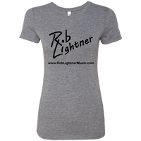 2018 Rob Lightner Summer Tour Black Logo NL6710 Next Level Ladies' Triblend T-Shirt
