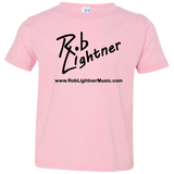 2018 Rob Lightner Summer Tour Black Logo 3321 Rabbit Skins Toddler Jersey T-Shirt