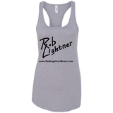 2019 Rob Lightner Summer Tour Black Logo NL1533 Next Level Ladies Ideal Racerback Tank