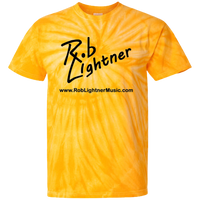 Rob Lightner Icon Black Logo CD100 100% Cotton Tie Dye T-Shirt