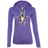"Merch Table Online ""Official"" 887L Anvil Ladies' LS T-Shirt Hoodie"