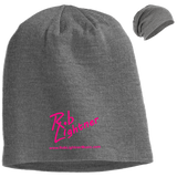 Rob Lightner Pink Logo DT618 District Slouch Beanie