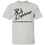 2019 Rob Lightner Summer Tour Black Logo G200B Gildan Youth Ultra Cotton T-Shirt