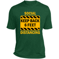 Social Distancing - ST360 Heather Dri-Fit Moisture-Wicking T-Shirt