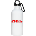 AssHatTShirts.com Red Logo 23663 20 oz. Stainless Steel Water Bottle