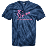 2018 Rob Lightner Summer Tour Pink Logo CD100Y Youth Tie Dye T-Shirt