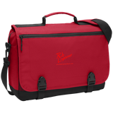 Rob Lightner Red Logo BG304 Port Authority Messenger Briefcase