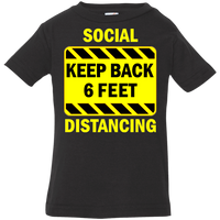 Social Distancing - 3322 Infant Jersey T-Shirt