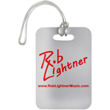 Rob Lightner Red Logo Luggage Bag Tag