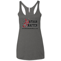Nathan Shaffer 2018 Summer Tour Shirt NL6733 Next Level Ladies' Triblend Racerback Tank