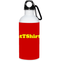 AssHatTShirts.com Yellow Logo 23663 20 oz. Stainless Steel Water Bottle