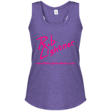 2019 Rob Lightner Summer Tour Pink Logo DM138L District Women's Perfect Tri Rackerback Tank