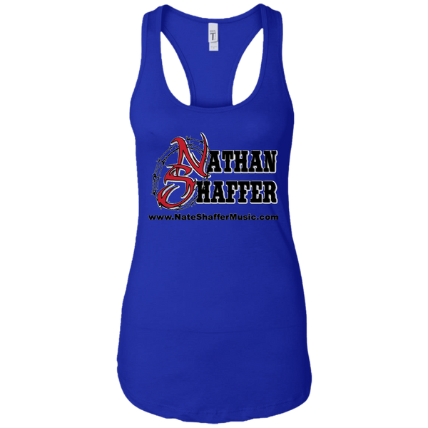Nathan Shaffer 2018 Summer Tour NL1533 Next Level Ladies Ideal Racerback Tank