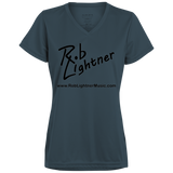 2019 Rob Lightner Summer Tour Black Logo 1790 Augusta Ladies' Wicking T-Shirt