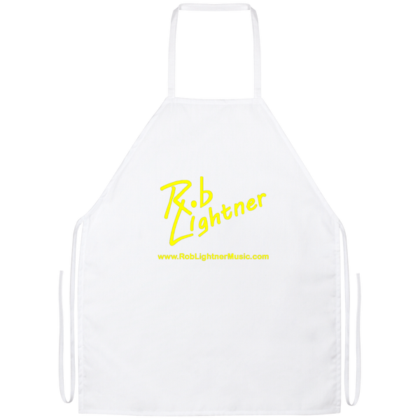 Rob Lightner Yellow Logo BBQ Apron