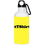 AssHatTShirts.com Black Logo 23663 20 oz. Stainless Steel Water Bottle