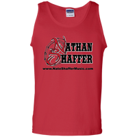 Nathan Shaffer 2018 Summer Tour G220 Gildan 100% Cotton Tank Top