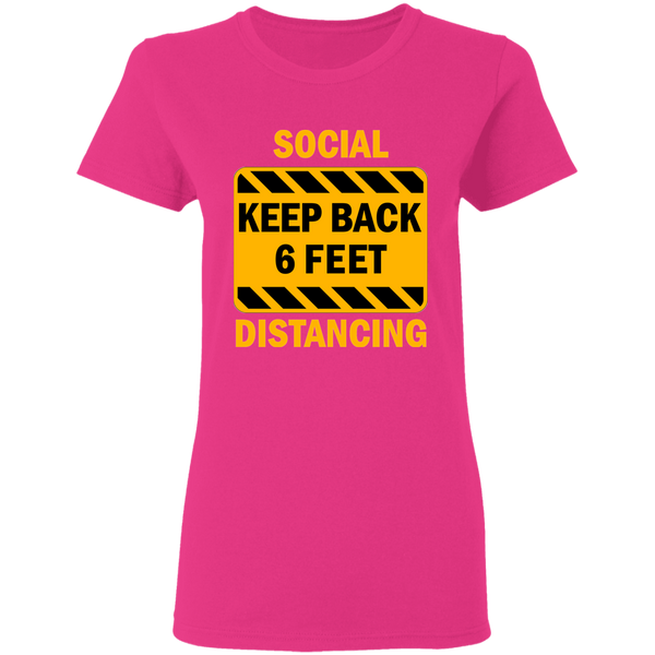 Social Distancing - G500L Ladies' 5.3 oz. T-Shirt