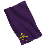 Rob Lightner Yellow Logo PT38 Port & Co. Rally Towel