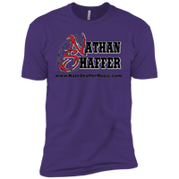 Nathan Shaffer 2018 Summer Tour NL3600 Next Level Premium Short Sleeve T-Shirt