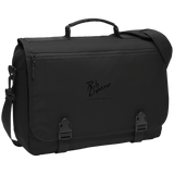 Rob Lightner Black Logo BG304 Port Authority Messenger Briefcase