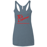 2018 Rob Lightner Summer Tour Red Logo NL6733 Next Level Ladies' Triblend Racerback Tank