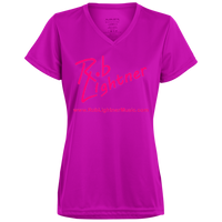 2019 Rob Lightner Summer Tour Pink Logo 1790 Augusta Ladies' Wicking T-Shirt