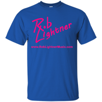 2019 Rob Lightner Summer Tour Pink Logo G200 Gildan Ultra Cotton T-Shirt