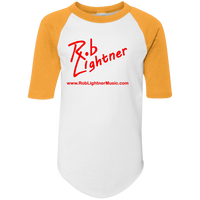 2019 Rob Lightner Summer Tour Red Logo 421 Augusta Youth Colorblock Raglan Jersey
