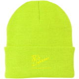 Rob Lightner Yellow Logo CP90 Port Authority Knit Cap
