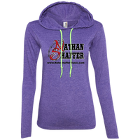 Nathan Shaffer 2018 Summer Tour 887L Anvil Ladies' LS T-Shirt Hoodie