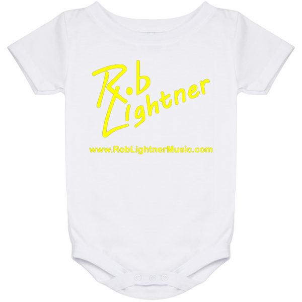 Rob Lightner Yellow Logo Baby Onesie 24 Month