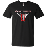 Wyatt Turner 982 Men's Printed V-Neck T-Shirt