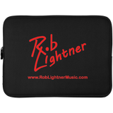 Rob Lightner Red Logo Laptop Sleeve - 15 Inch