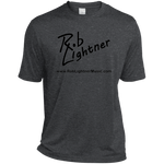 2019 Rob Lightner Summer Tour Black Logo ST360 Sport-Tek Heather Dri-Fit Moisture-Wicking T-Shirt