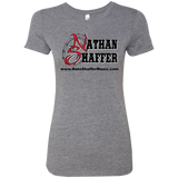 Nathan Shaffer 2018 Summer Tour NL6710 Next Level Ladies' Triblend T-Shirt