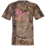 2018 Rob Lightner Summer Tour Pink Logo 3980 Code V Short Sleeve Camouflage T-Shirt