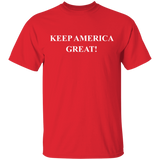 KEEP AMERICA GREAT G500 Gildan 5.3 oz. T-Shirt