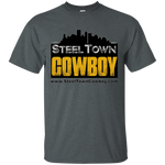 SteelTown Cowboy - G200 Gildan Ultra Cotton T-Shirt