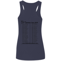 2019 Rob Lightner Summer Tour Black Logo G645RL Gildan Ladies' Softstyle Racerback Tank
